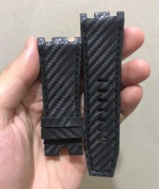 strap 19mm - ap carbon fiber black for roo 44mm - untuk br 01 atau br 03