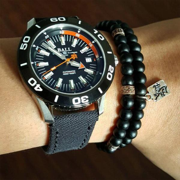 strap 20mm - canvas strap - japan canvas black | gunnystore.id