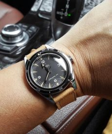 strap 20mm - leather strap - pebble tan | gunnystore.id