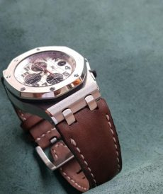 strap roo 42 ap safari brown for roo 42mm old gunny strap indonesia