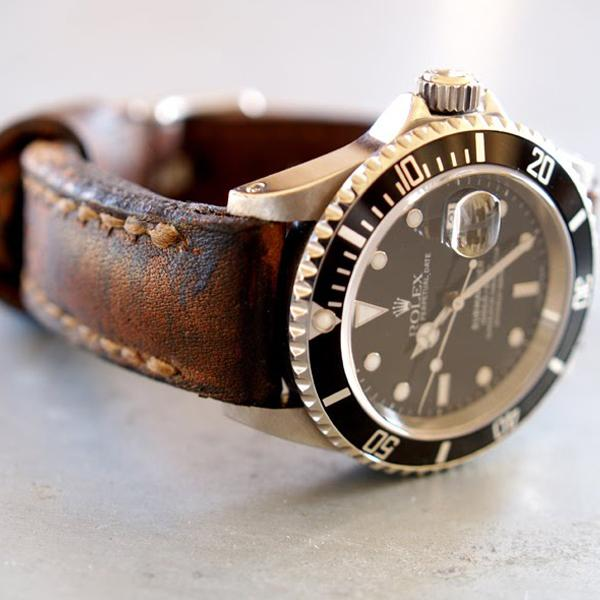 strap 20mm - arillo padded and tapered | gunny strap indonesia