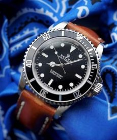 strap rolex 20mm - deep red - submariner, gmt master ii, daytona, explorer ii