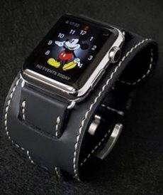 strap apple watch custom tali jam tangan black matte bund series gunny strap indonesia