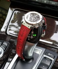 strap hublot custom tali jam tangan japanese canvas red scritto gunny strap indonesia