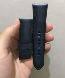 strap panerai luminor custom tali jam tangan deep blue gunny strap indonesia