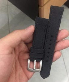 strap rolex custom tali jam tangan japan canvas black gunny strap indonesia