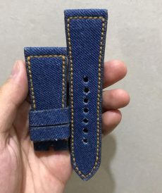 strap seven friday custom tali jam tangan denim gunny strap indonesia
