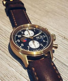 strap steinhart custom tali jam tangan arillo padded and tapered gunny strap indonesia