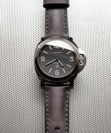 strap panerai luminor custom tali jam tangan deep grey gunny strap indonesia