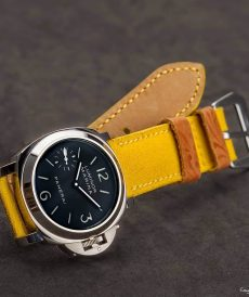 strap panerai luminor custom tali jam tangan jaune canvas gunny strap indonesia